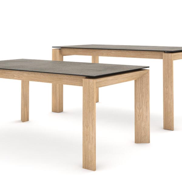 Table Ceramique Pieds Bois Meubles Bourrat